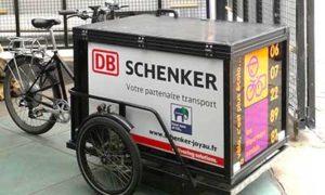 DB SCHENKER - Automatisation des nouveaux moyens de livraison en mode doux